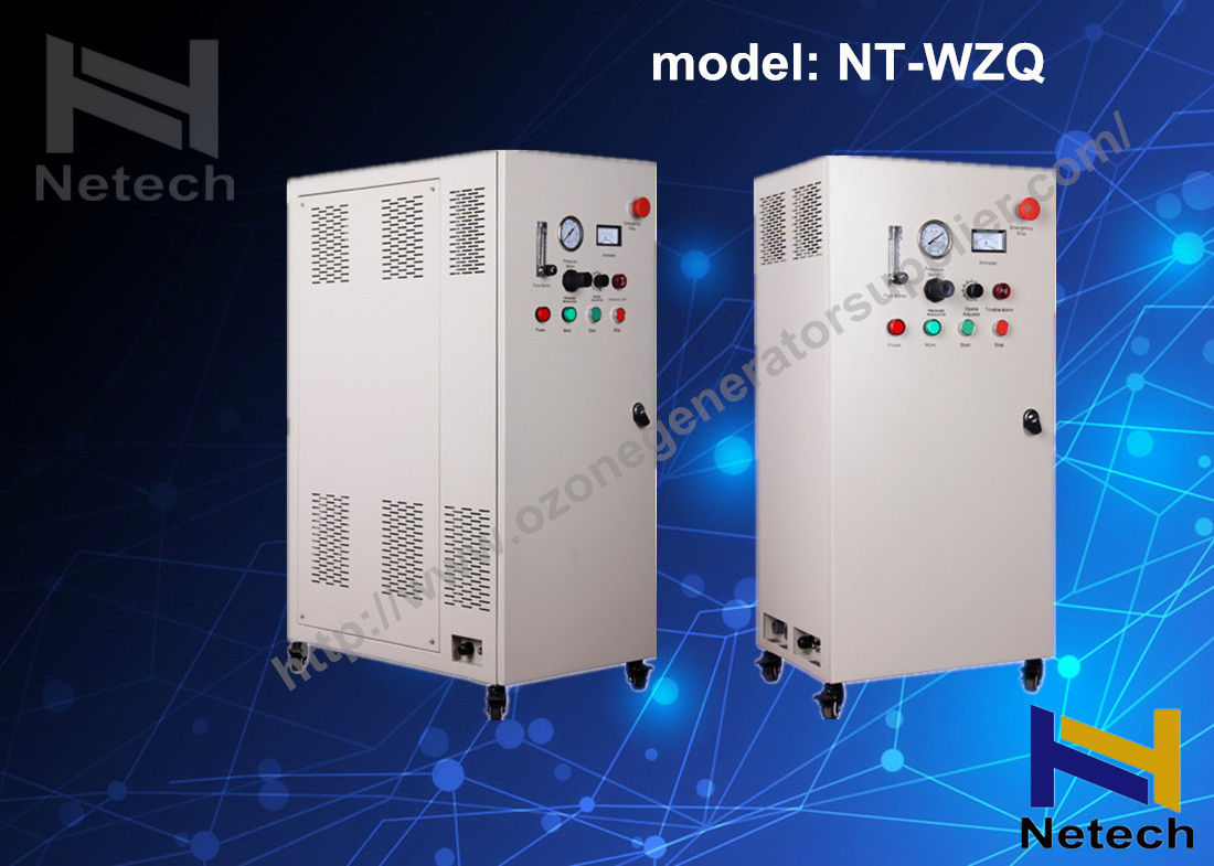 Water Cooled Drinking Water Ozonator Machine For Ozone Water Treatment