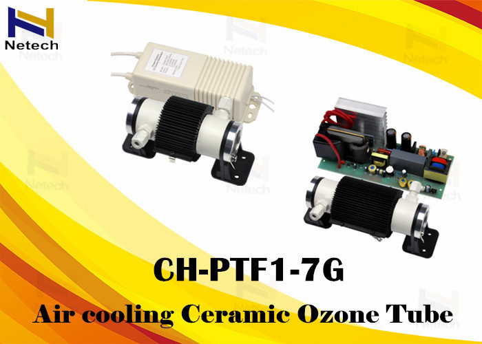 Stable Ozone Output 3 - 7g Ozone Generator Parts Air Cooling Ozone Ceramic Tube